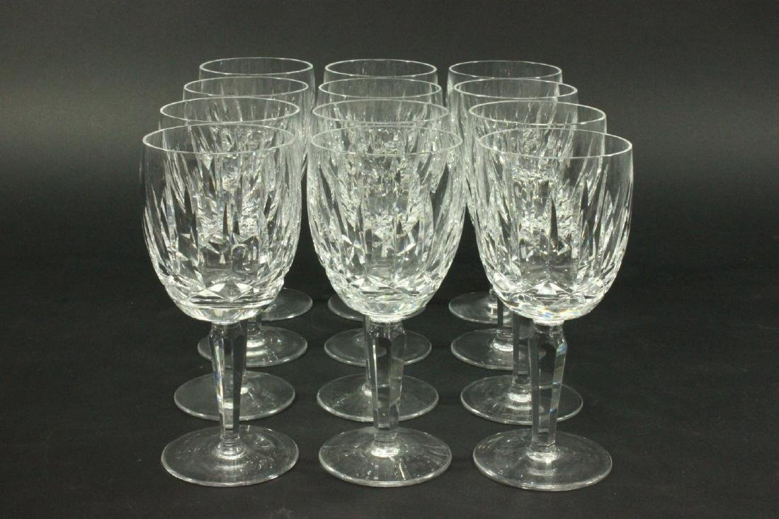 Set 12 Waterford Kildare Water Glasses