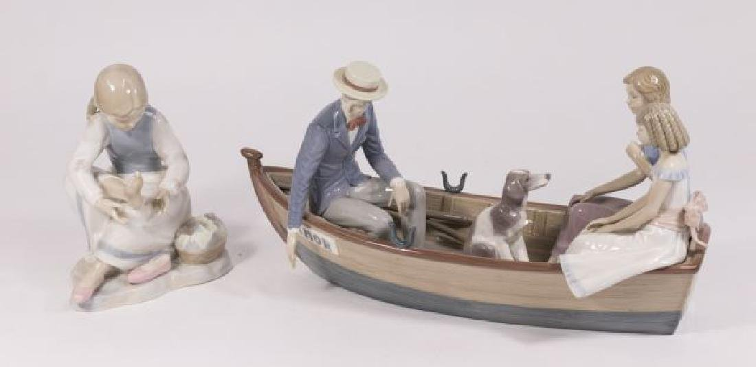 :2 Lladro Pieces