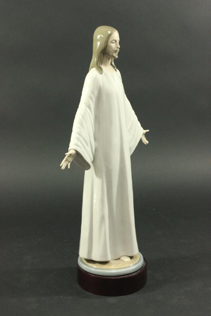 Lladro Porcelain Figure of Jesus - 3