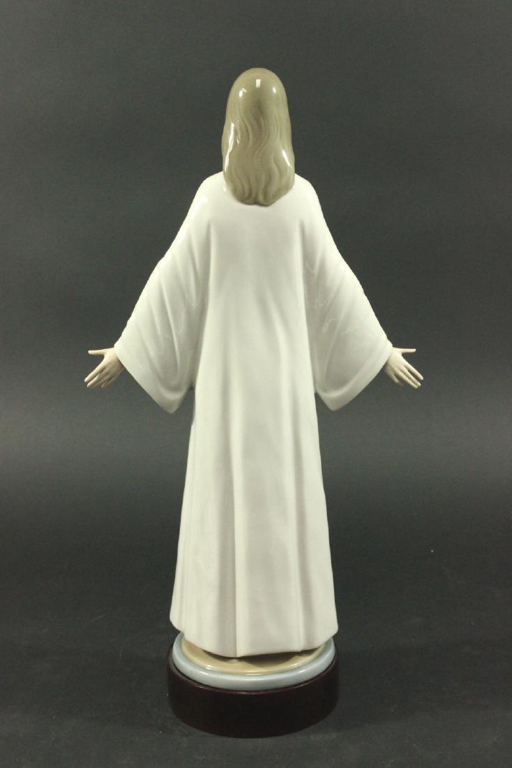 Lladro Porcelain Figure of Jesus - 4