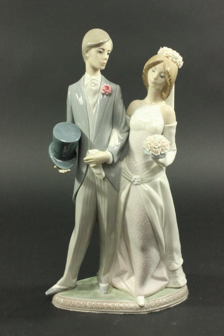 "Lladro ""Bride and Groom"" #1404"