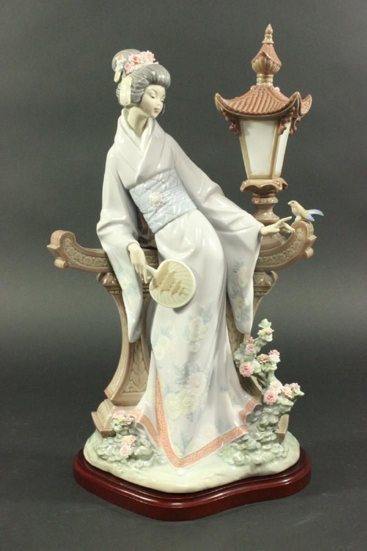 """Lladro """"Mariko"""" #1421 Porcelain Figurine"""