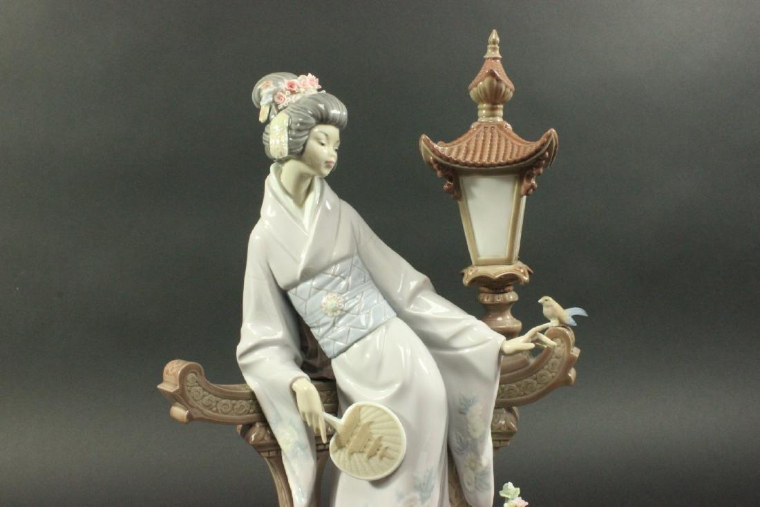 """Lladro """"Mariko"""" #1421 Porcelain Figurine - 2"""