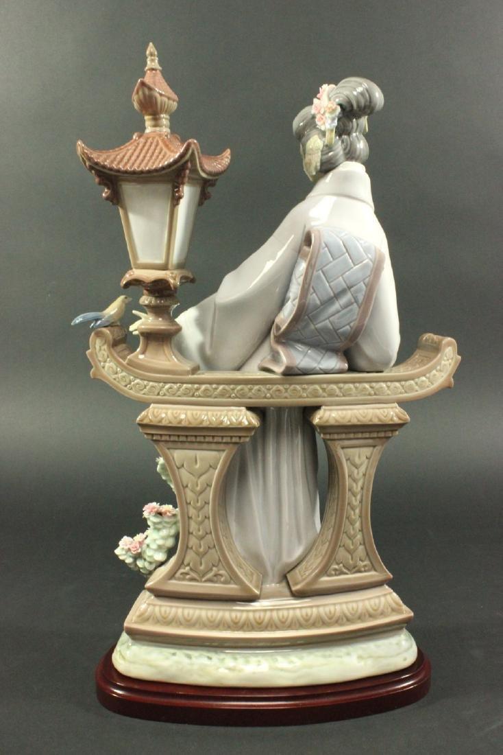 """Lladro """"Mariko"""" #1421 Porcelain Figurine - 5"""