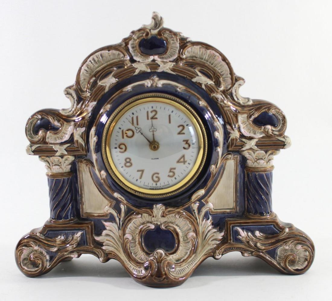 Pottery Clock Case