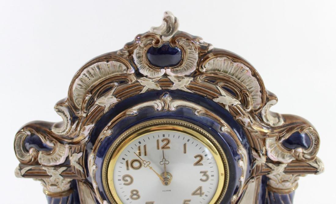 Pottery Clock Case - 3