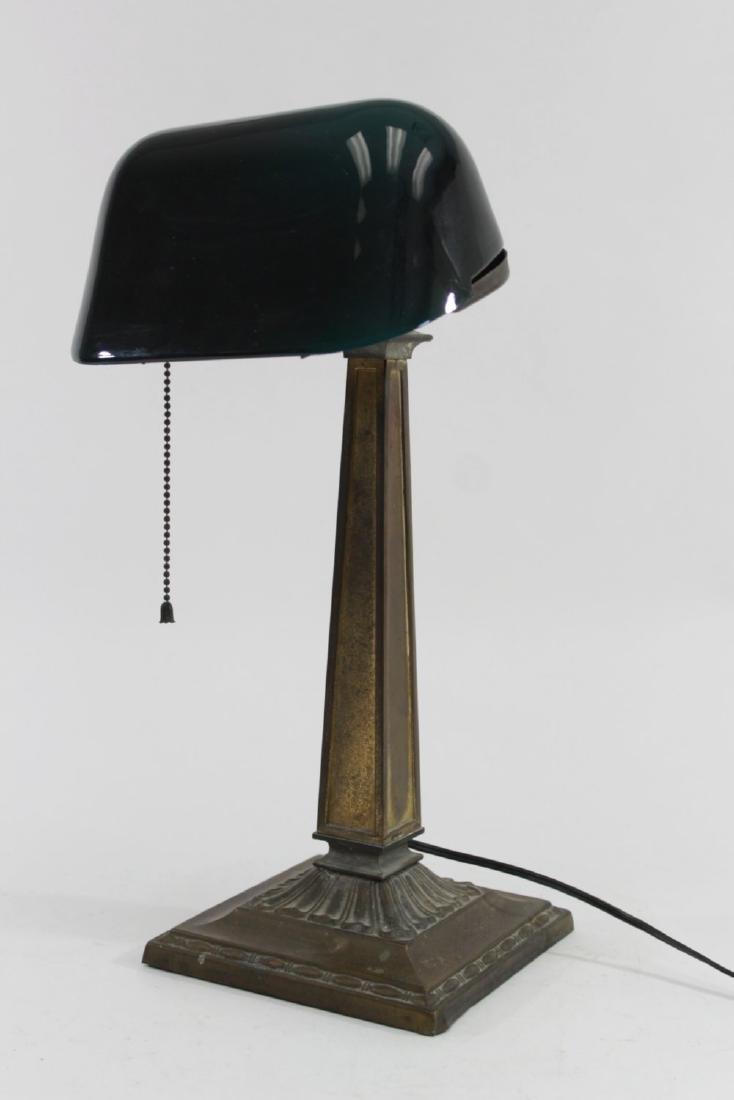Emeralite Banker's Desk Lamp