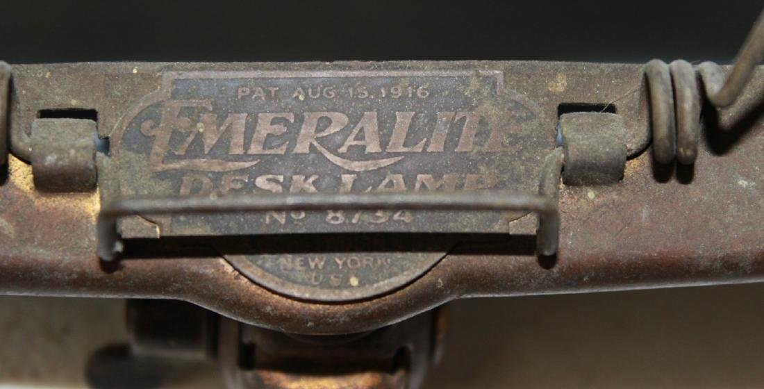 Emeralite Banker's Desk Lamp - 7