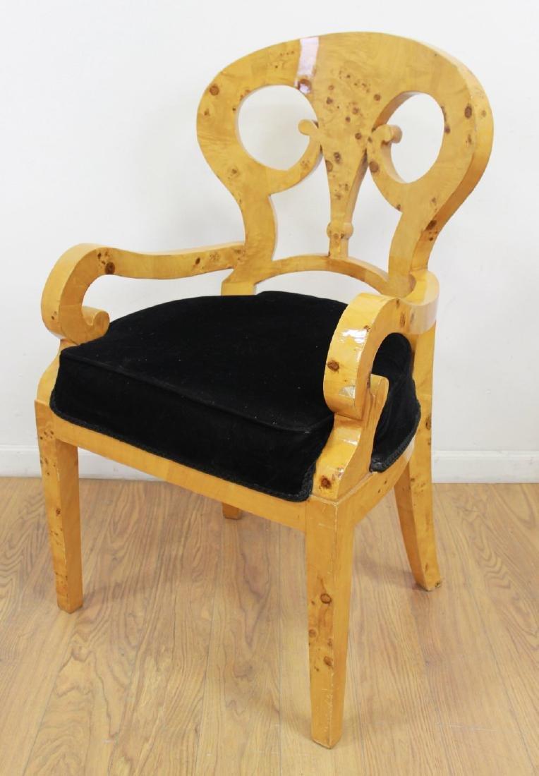 Set 4 Beidermeier Style Armchairs - 2