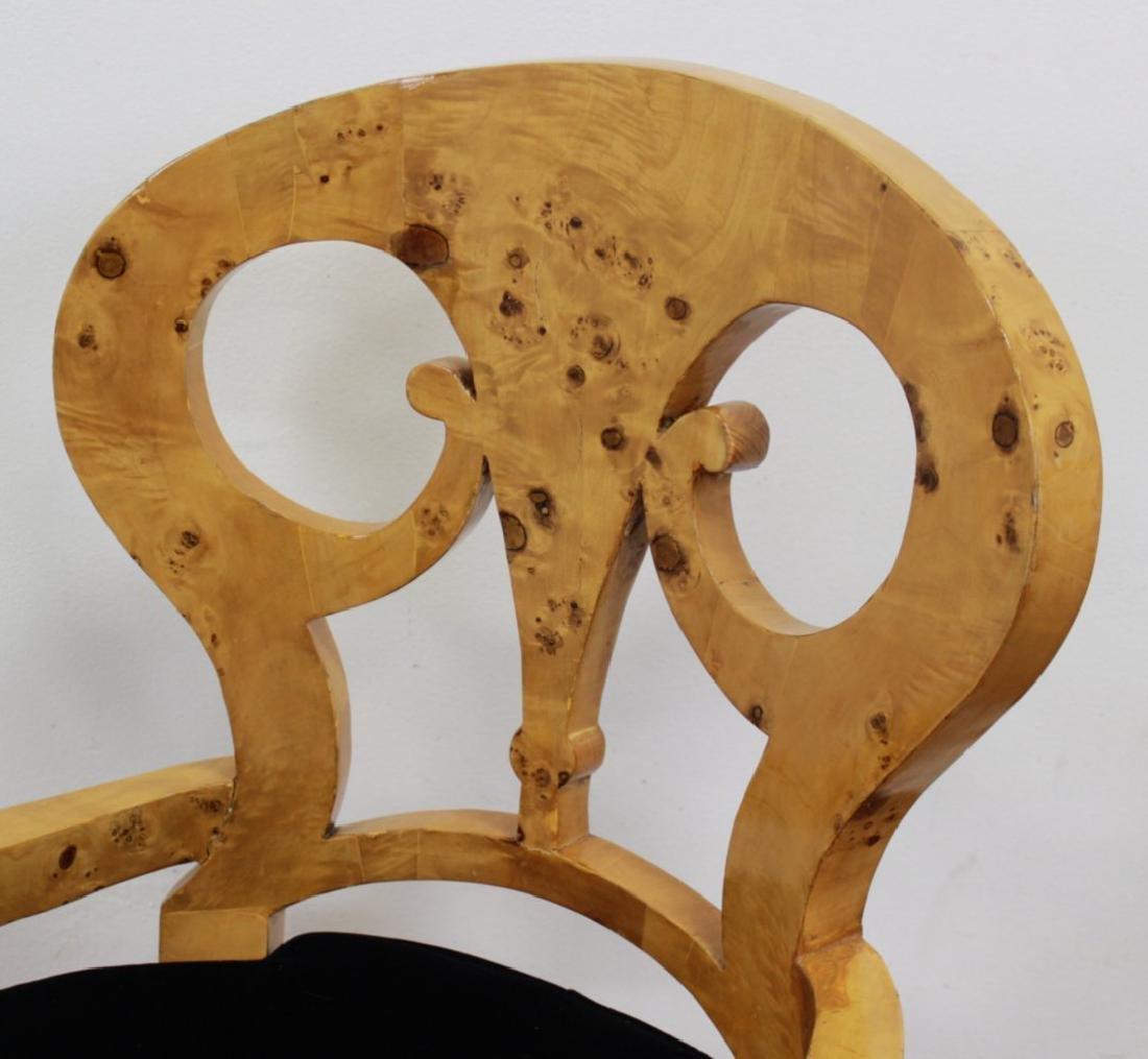 Set 4 Beidermeier Style Armchairs - 3