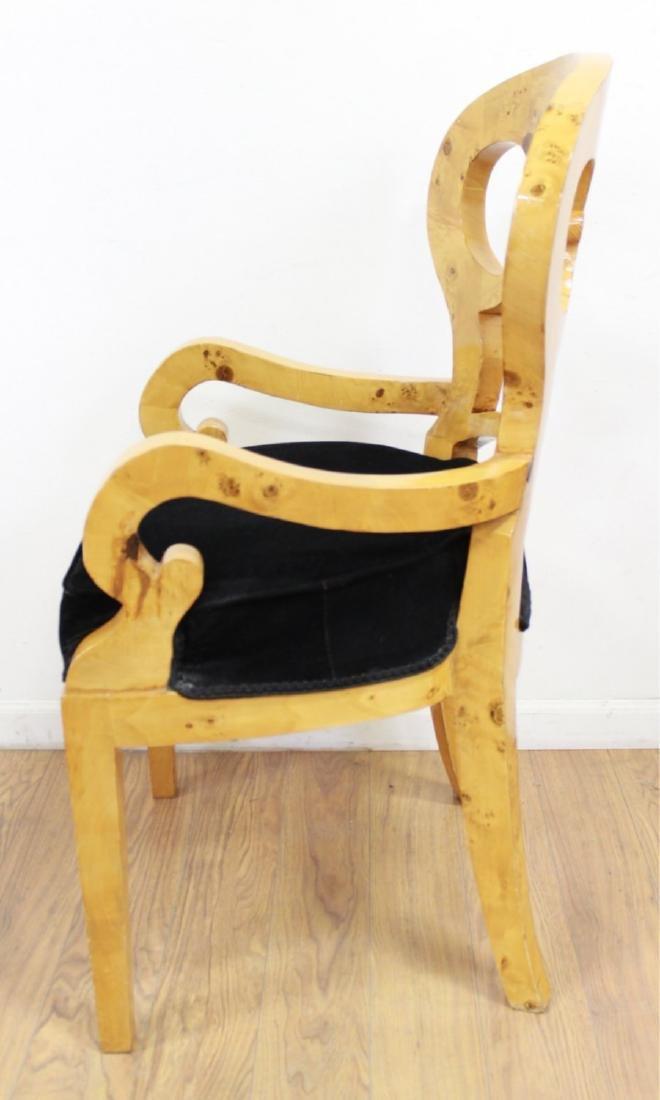 Set 4 Beidermeier Style Armchairs - 4