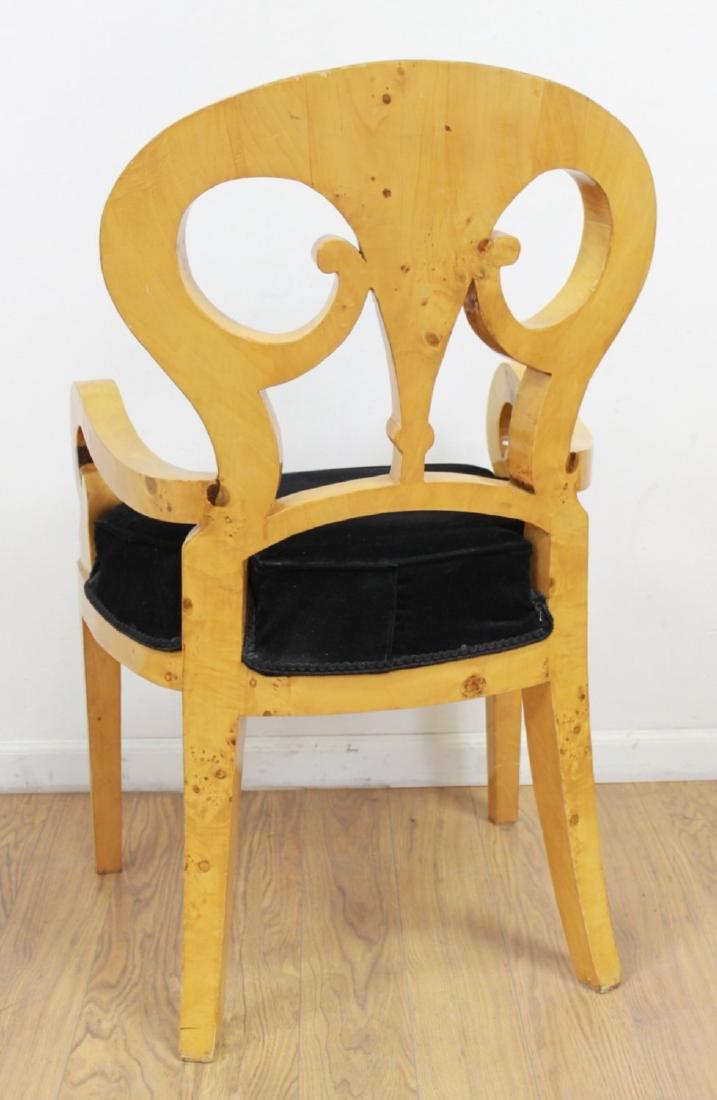 Set 4 Beidermeier Style Armchairs - 5
