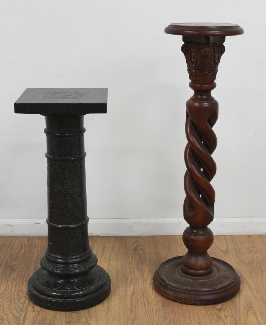2 Pedestals