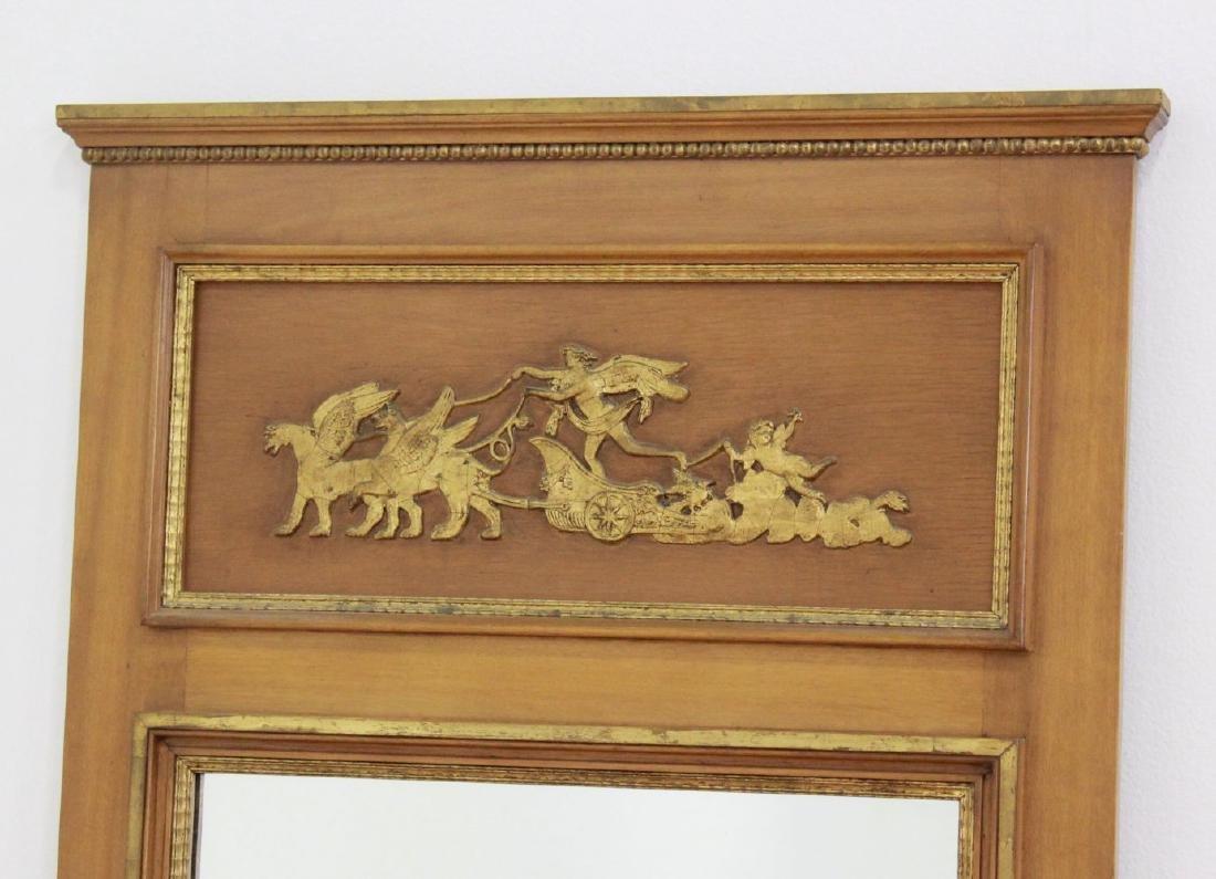 Rectangular Trumeau Mirror & French Style Mirror - 3