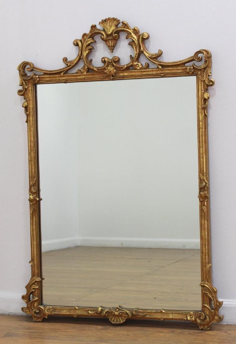 Rectangular Trumeau Mirror & French Style Mirror - 4