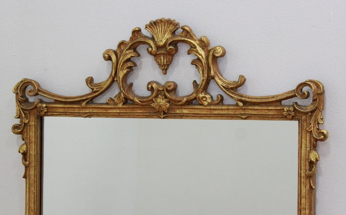 Rectangular Trumeau Mirror & French Style Mirror - 5