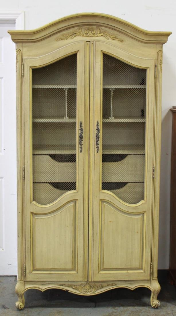 Country French 2-Door Armoire