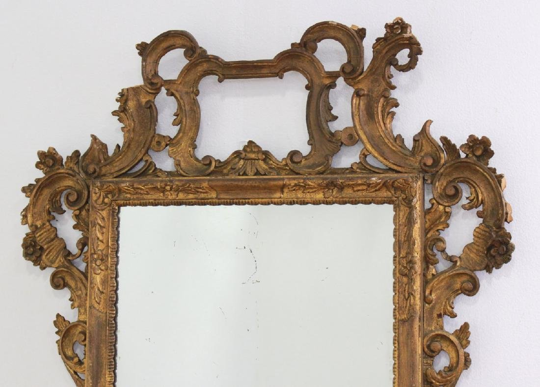 Giltwood Carved Mirror - 2