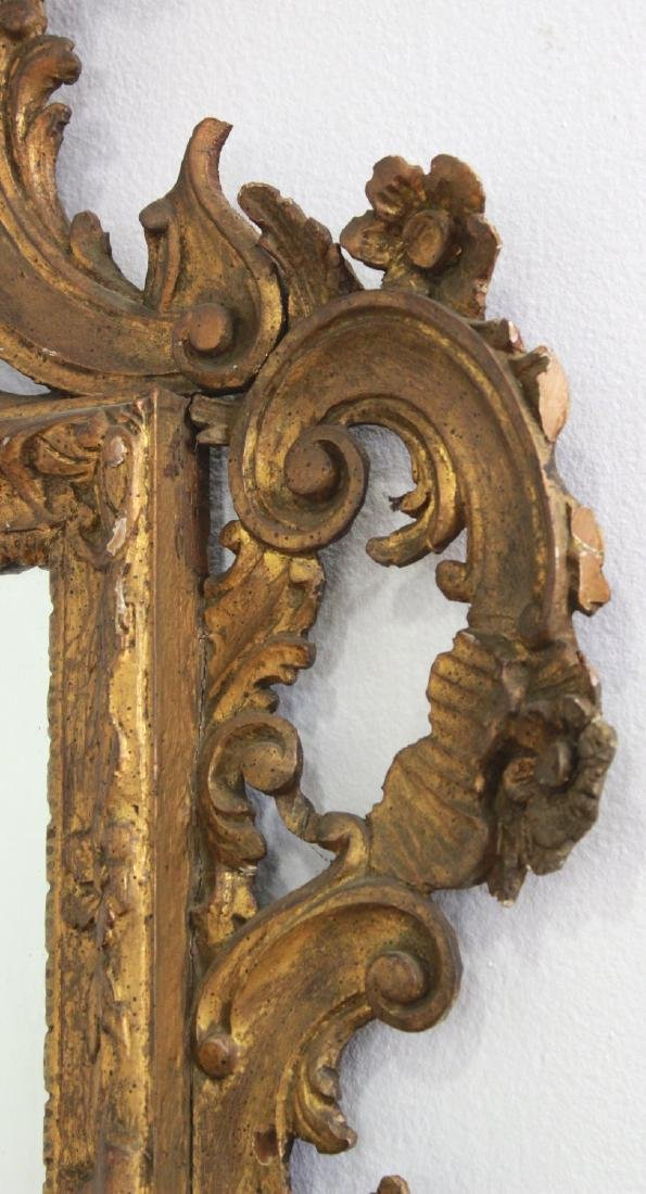 Giltwood Carved Mirror - 3