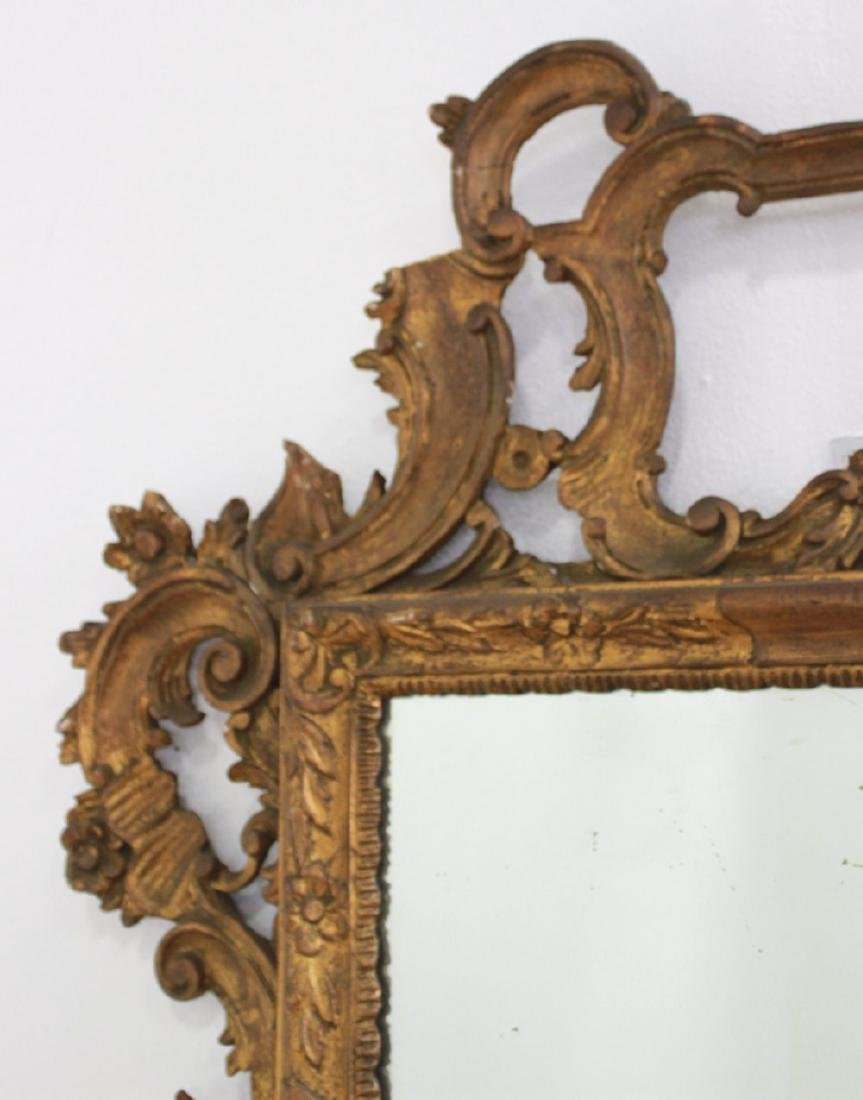Giltwood Carved Mirror - 4