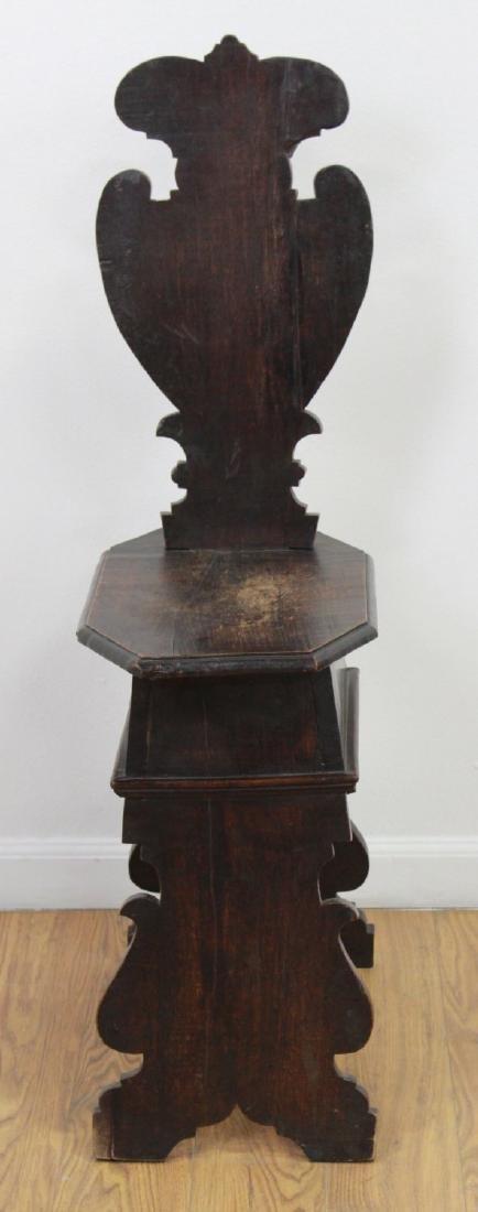 Pair Antique Renaissance Style Diminutive Chairs - 3