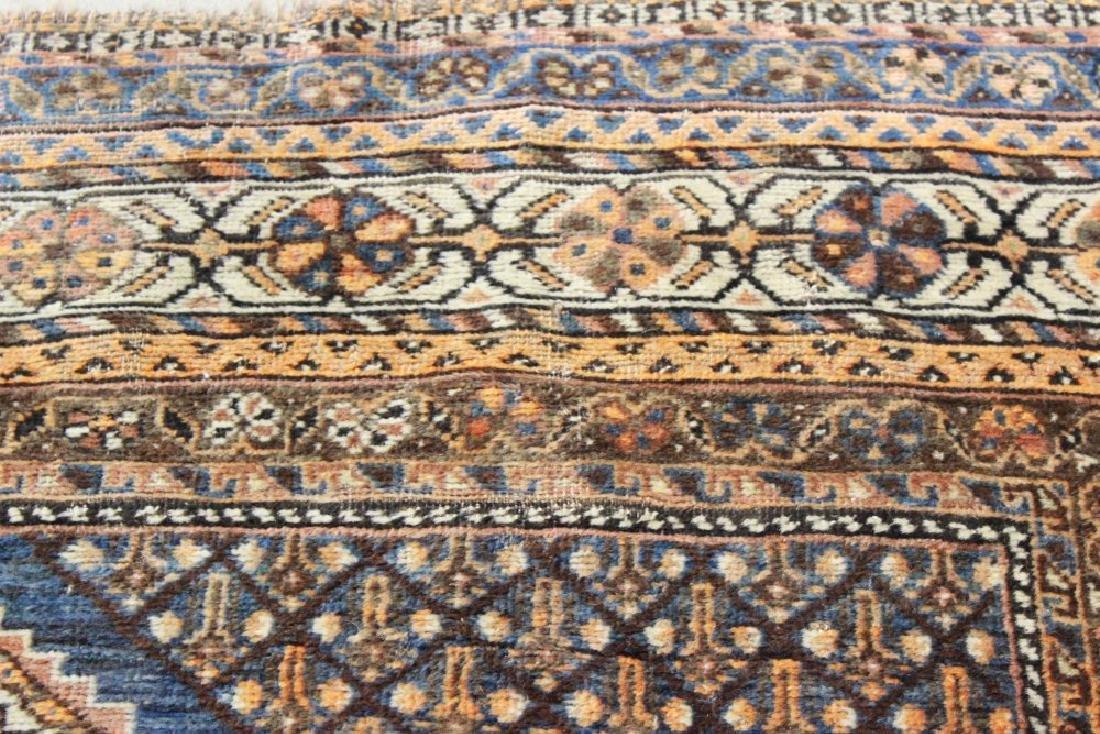 Antique Shiraz Persian Rug/Carpet - 5