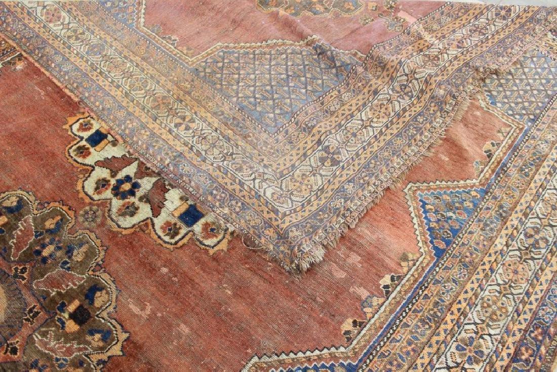 Antique Shiraz Persian Rug/Carpet - 9