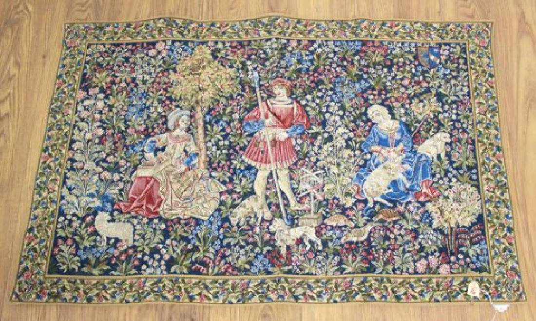:4 French Tapestries, Tapisseries du Lion, France - 3