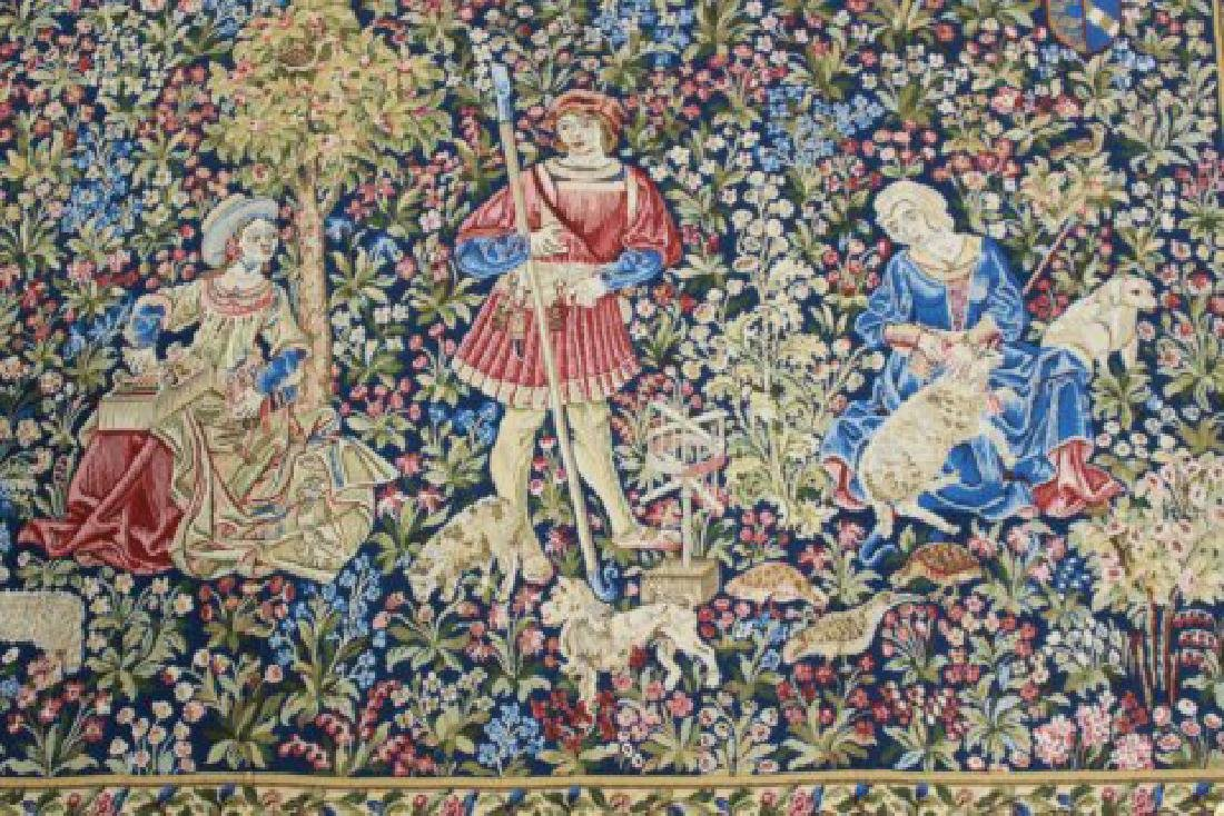 :4 French Tapestries, Tapisseries du Lion, France - 4