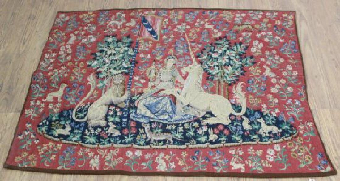 ":French Tapestry, ""La Vue"""