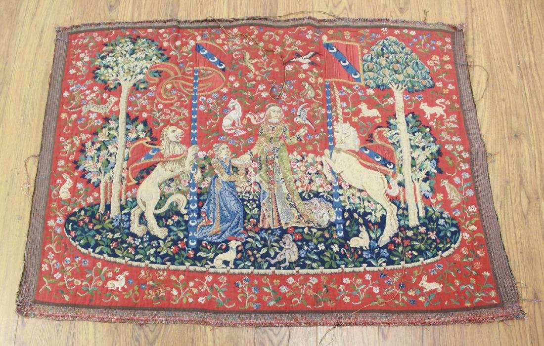 4 French Tapestries After the Antique - 2