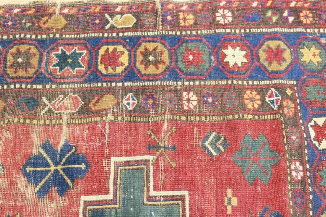 Antique Caucasian Rug/Carpet - 4