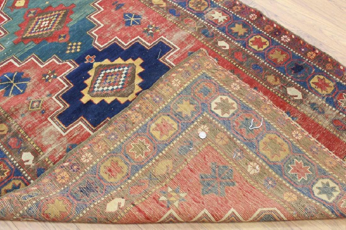 Antique Caucasian Rug/Carpet - 5