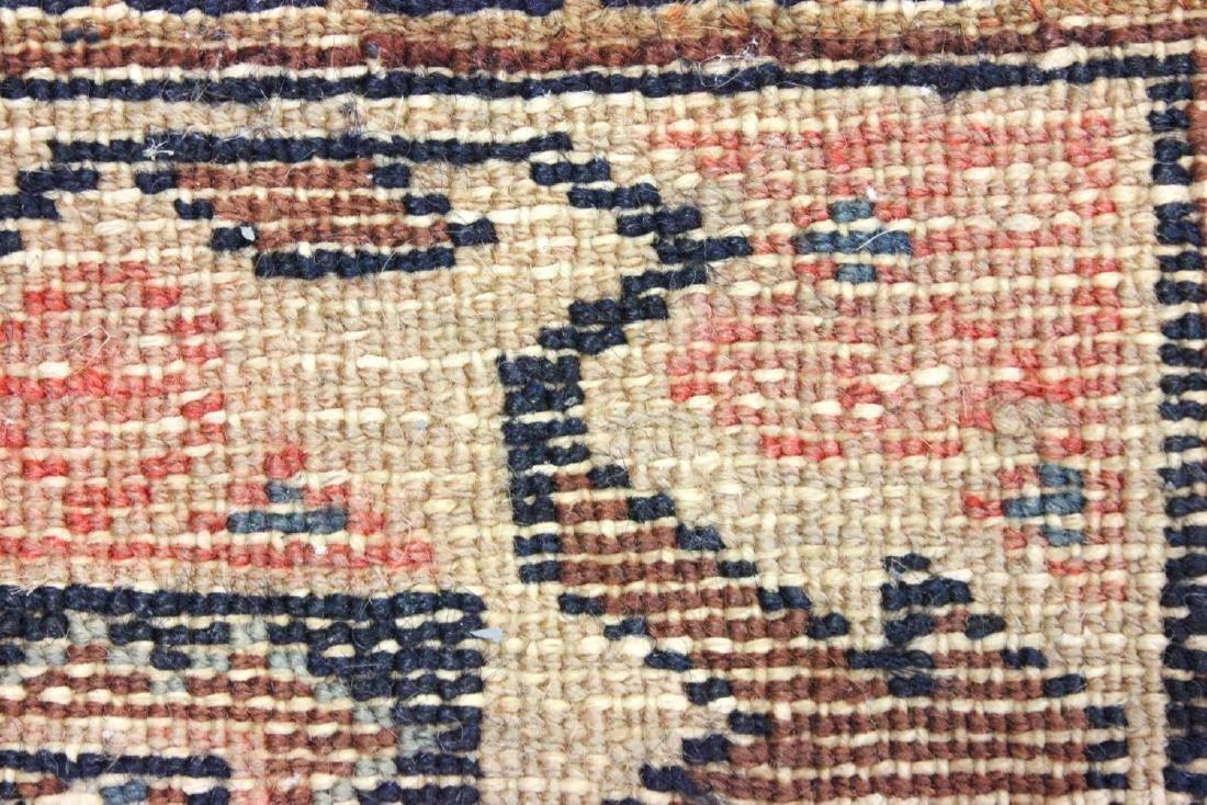 Antique Red Caucasian Rug/Carpet - 4