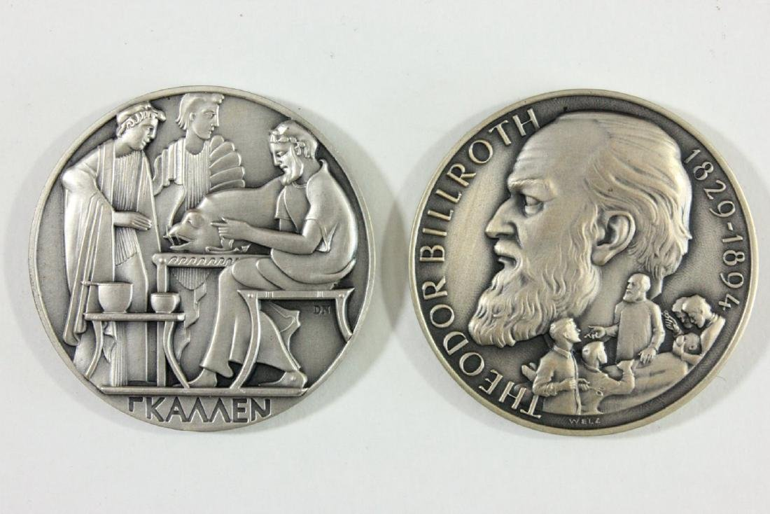 Set of 36 Surgical History 0.999 Silver Medallions - 3