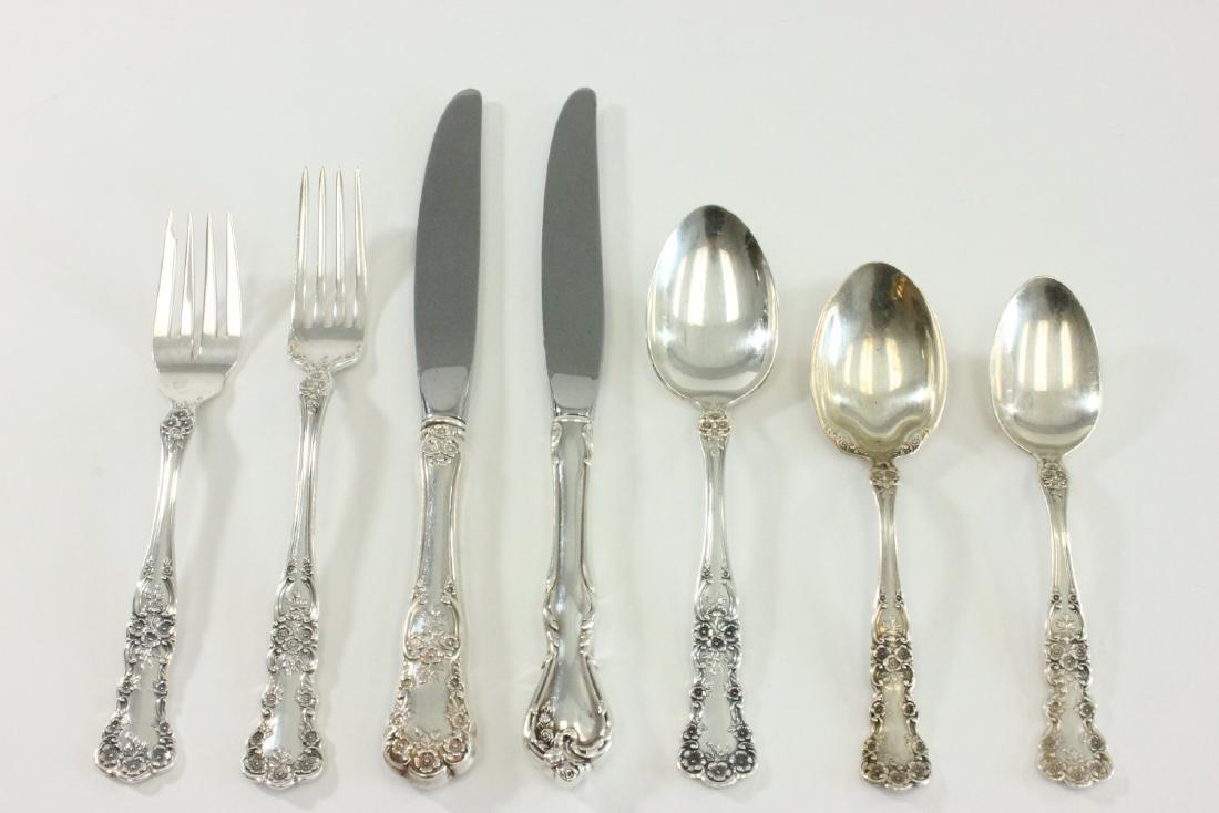 Sterling Silver Flatware Set by Gorham - 2