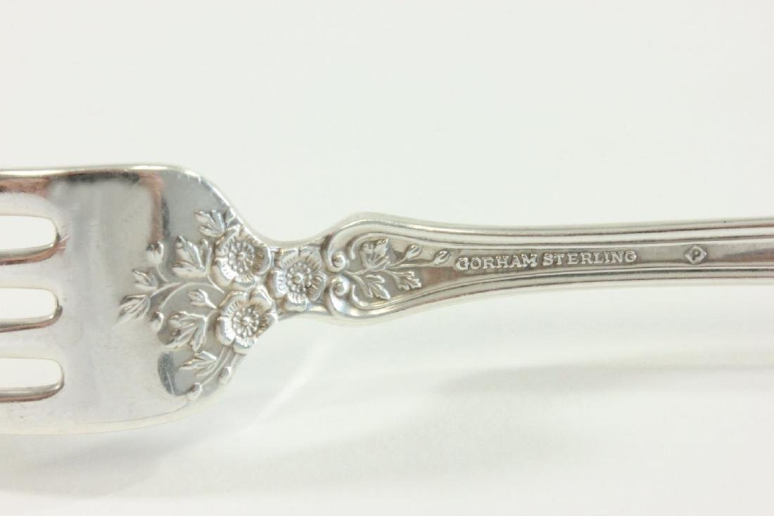 Sterling Silver Flatware Set by Gorham - 5