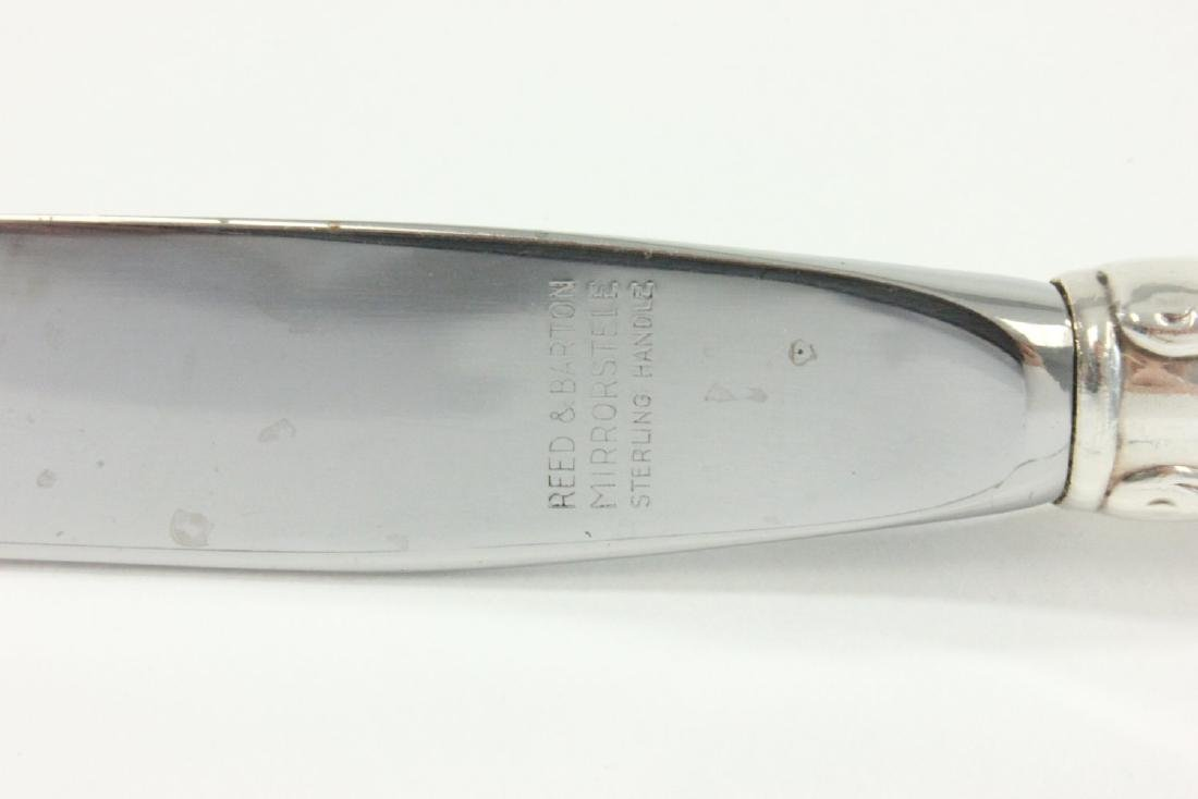 Sterling Silver Flatware Set by Gorham - 7