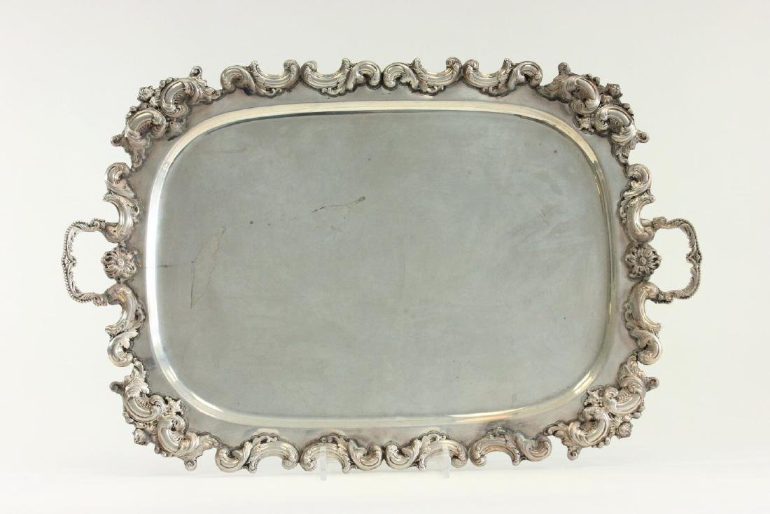 Sterling Silver Serving Tray