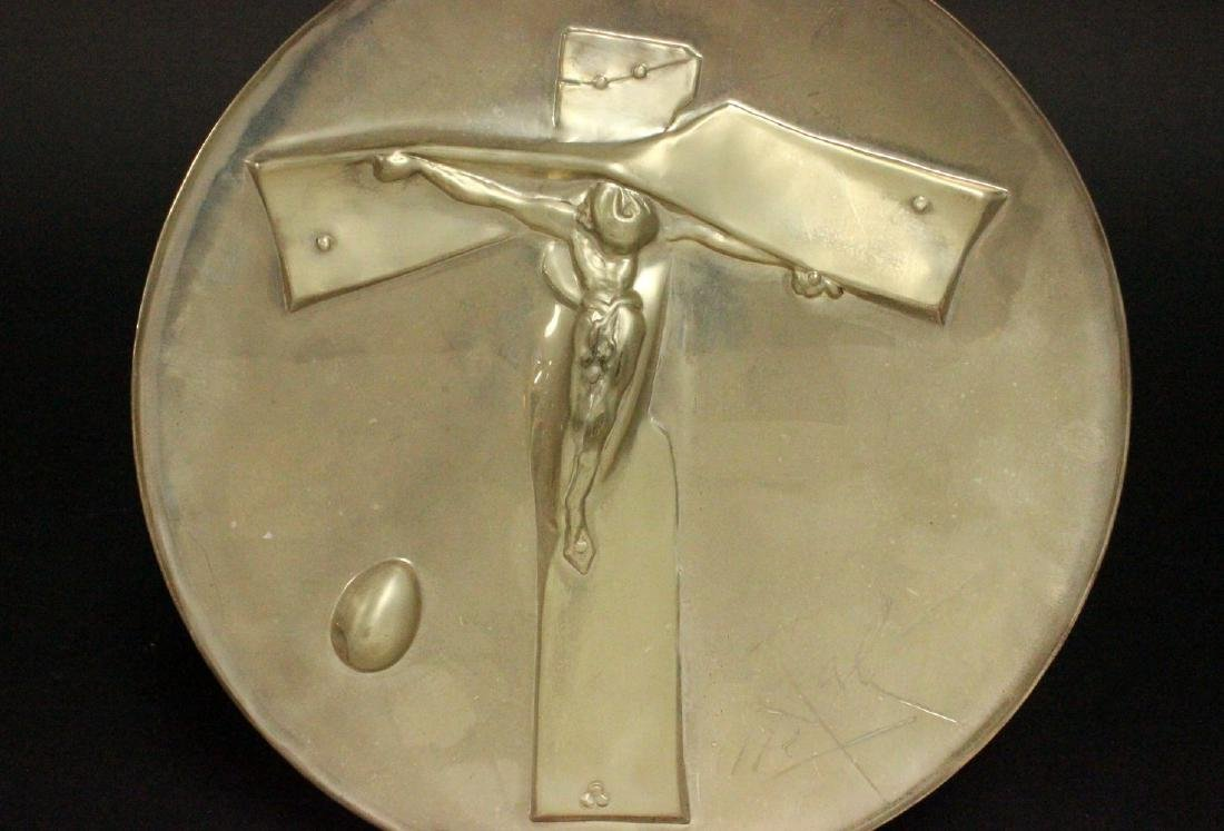 Salvador Dali Sterling Silver Easter Plate - 3