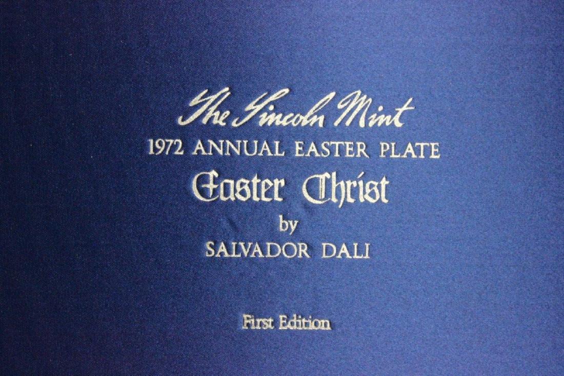 Salvador Dali Sterling Silver Easter Plate - 6