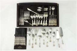 Reed  Barton Sterling Silver Flatware Set