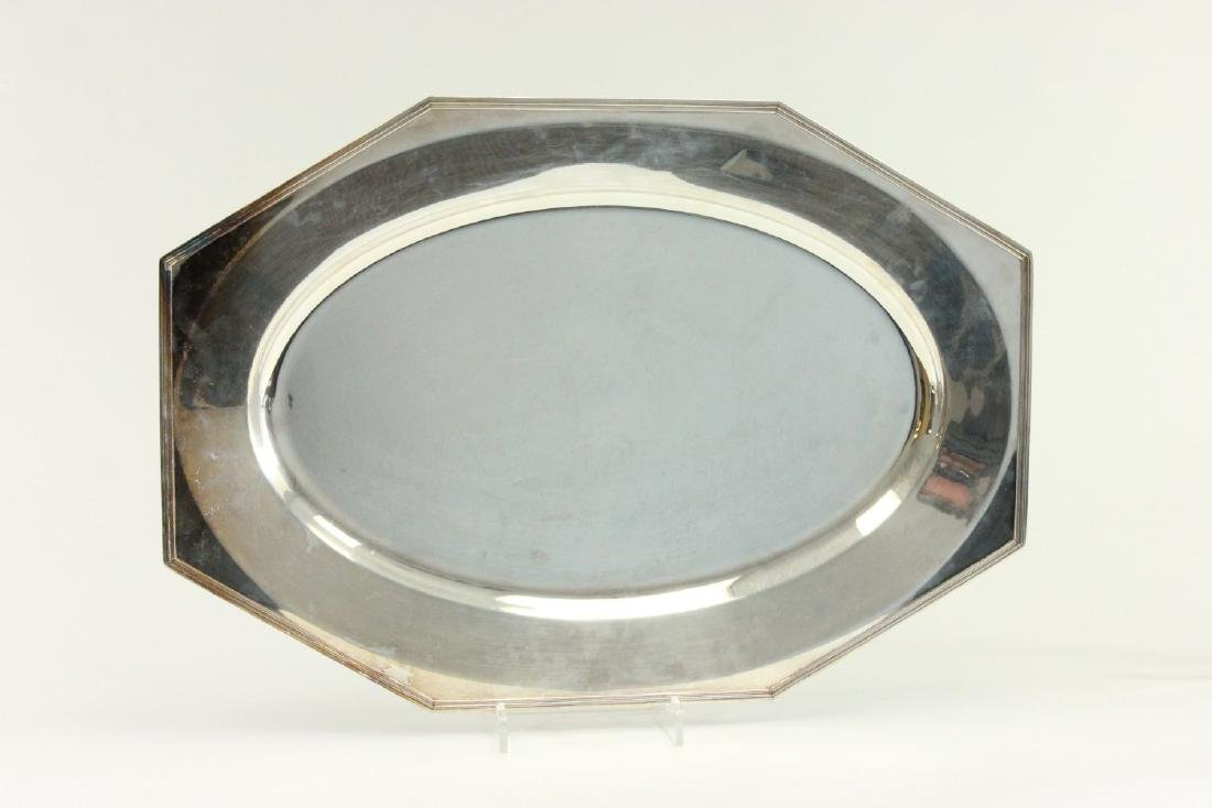 Lot of 5 Silverplated Trays - 2
