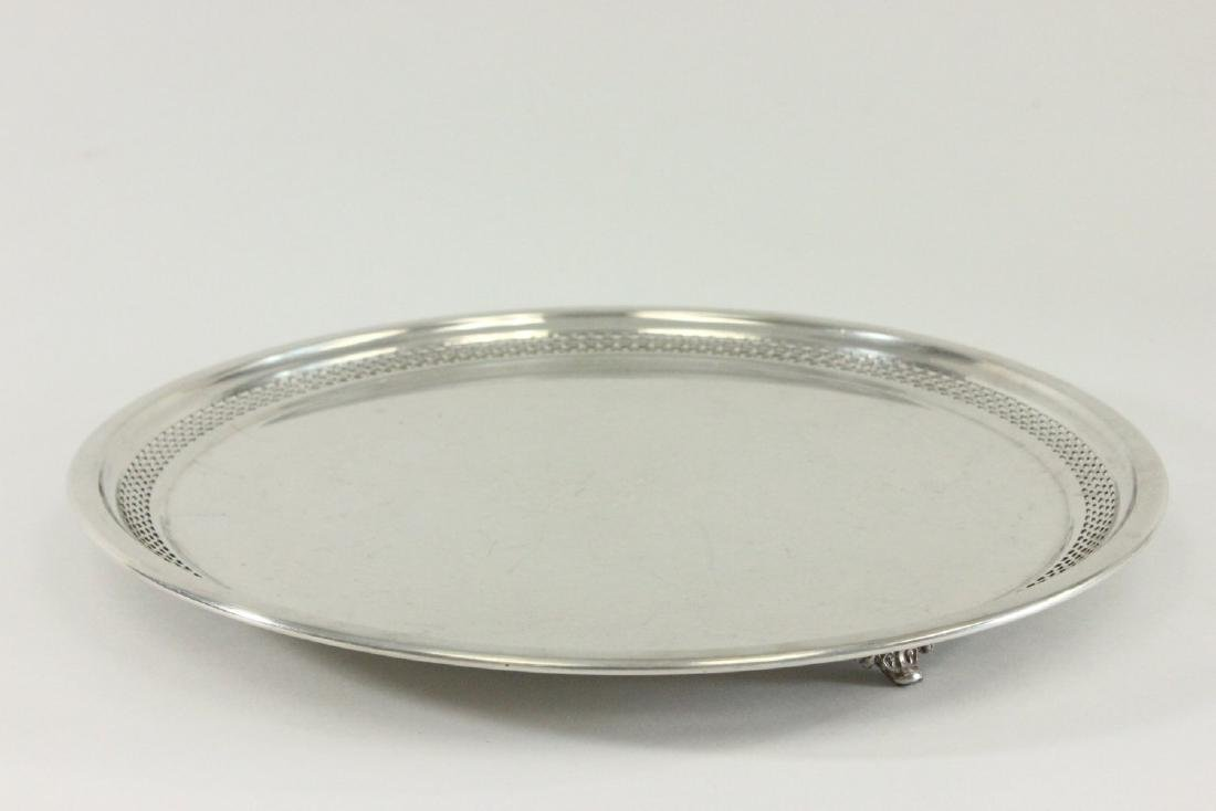 Lot of 5 Silverplated Trays - 9