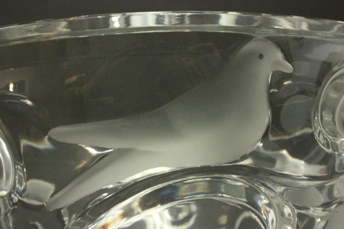 Lalique Verone Clear & Frosted Bowl - 2