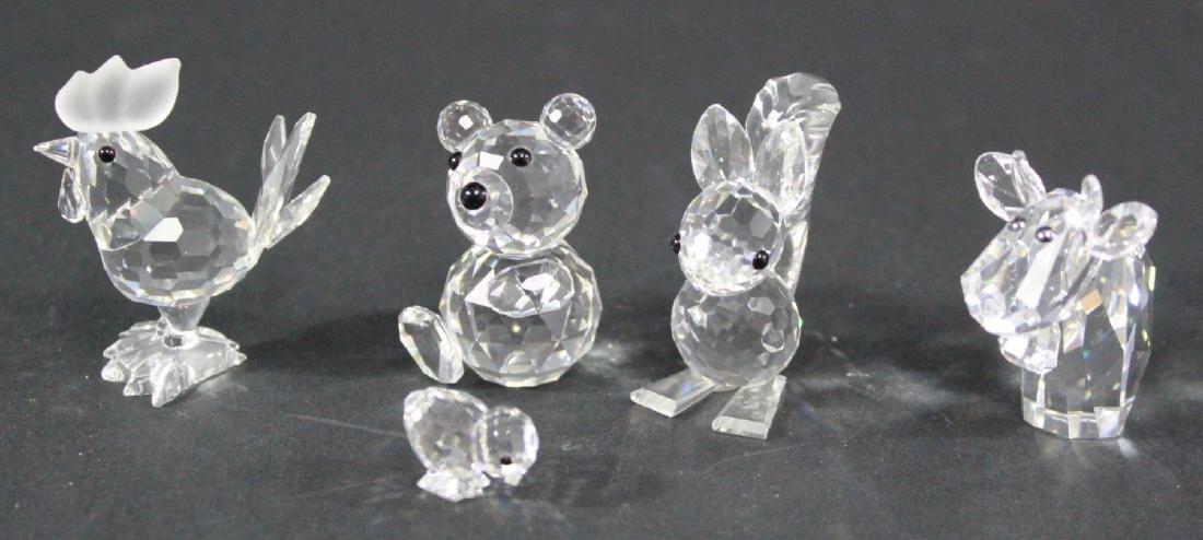 Lot of 21 Swarovski Crystal Glass Figurines - 3