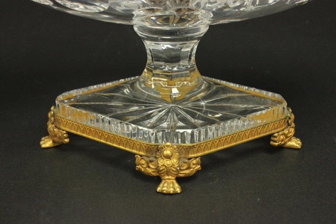 Baccarat Style Bronze Mounted Centerpiece - 3