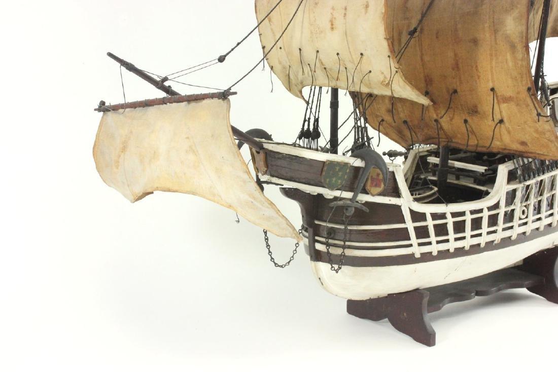 "Wood Ship's Model of ""Santa Maria"" - 2"