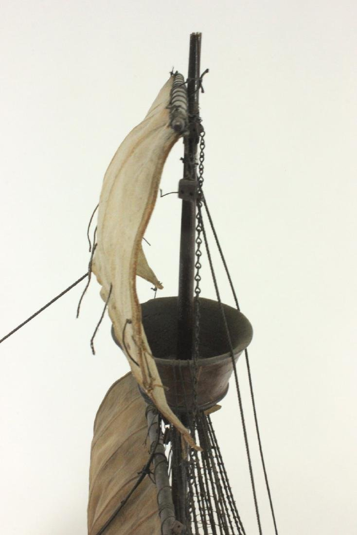 "Wood Ship's Model of ""Santa Maria"" - 4"