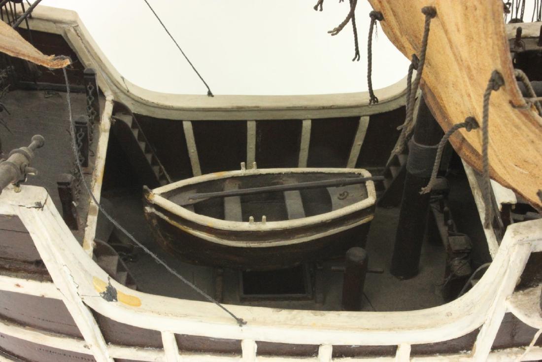 "Wood Ship's Model of ""Santa Maria"" - 5"